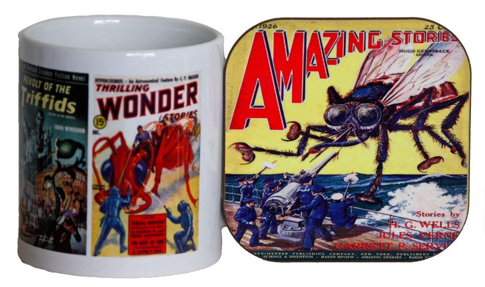 Sci-Fi Comics - Mug & Coaster