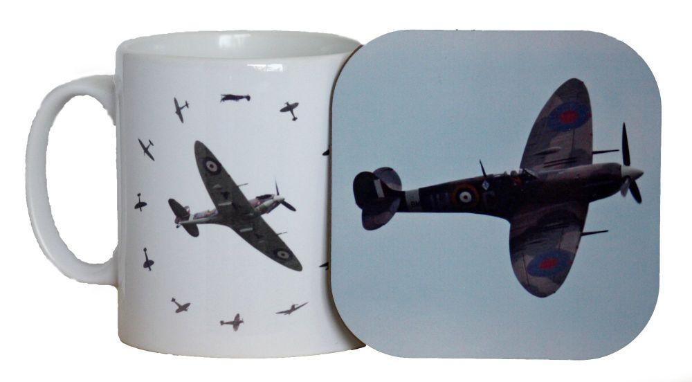 Spitfire - Mug & Coaster