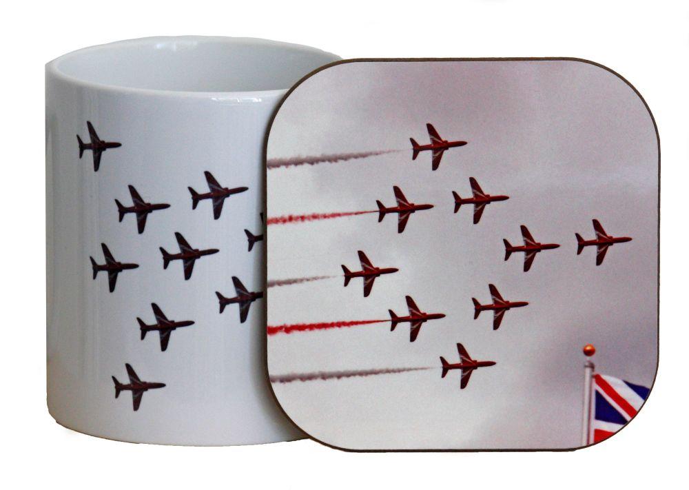 The Red Arrows - Mug & Coaster