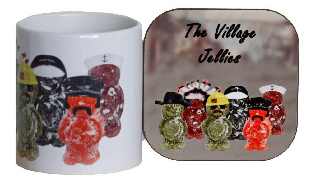 The Village Jellies - Mug & Coaster