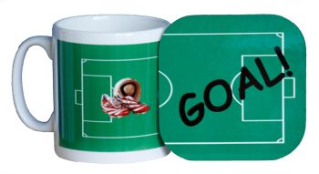 Football - Mug and Coaster