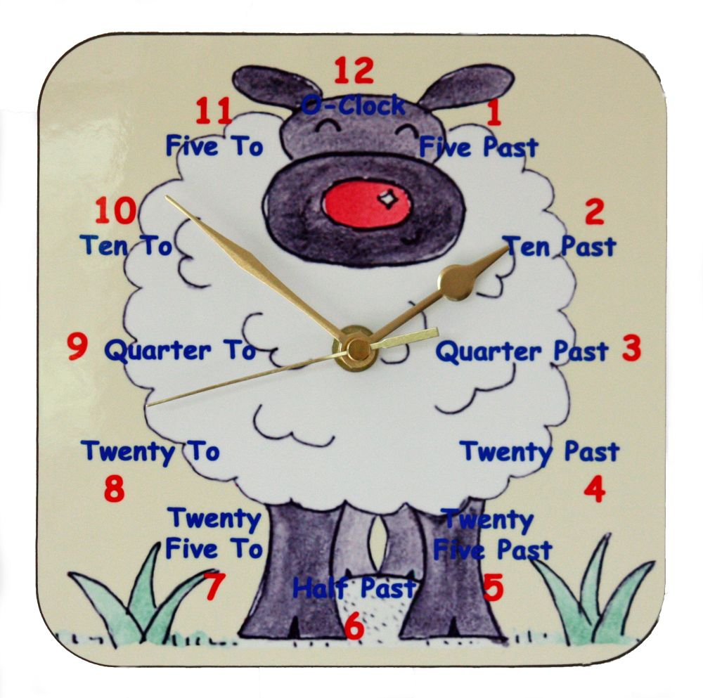 Sheep Clock for Teaching the Time