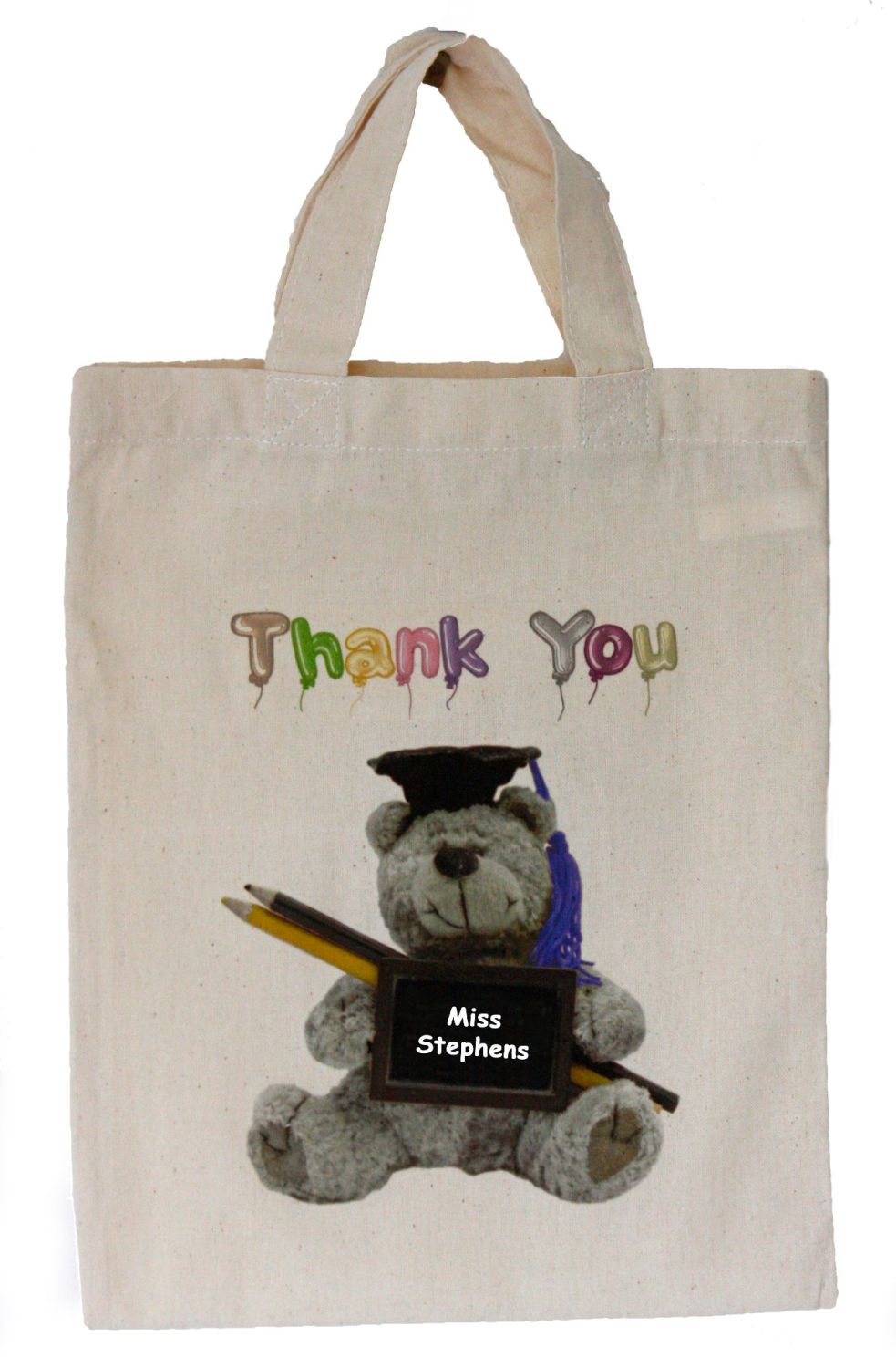 Thank You (Teaching Assistant) Personalised Small Bag