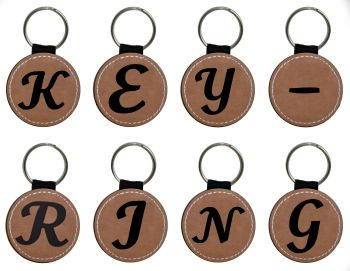 Alphabet Keyring