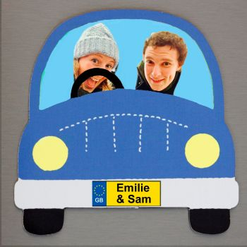 Blue Car - Driver, Passenger and Name(s)