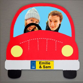 Red Car - Driver, Passenger and Name(s)