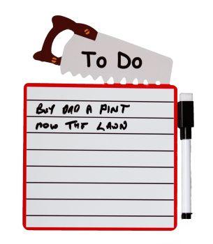 Fridge Magnet Dry Wipe Board - To Do  List (Sent Post Fee)