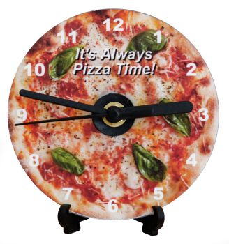 Margherita Pizza - With Text