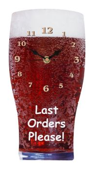 Pint of Beer Wall Clock