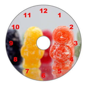 Jelly Babies - Numeric Dial