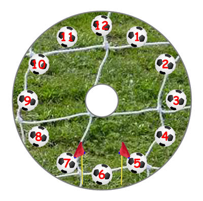 Football (Numeric Dial)