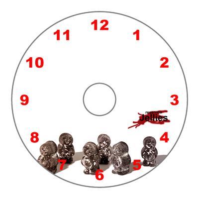 Reservoir Jellies - Numeric Dial