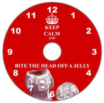 Keep Calm & Bite the Head off a Jelly