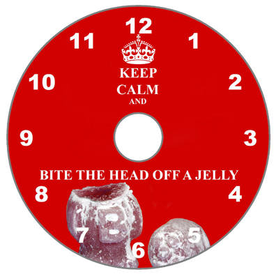 Keep Calm & Bite the Head off a Jelly