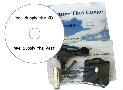 CD Clock Kit
