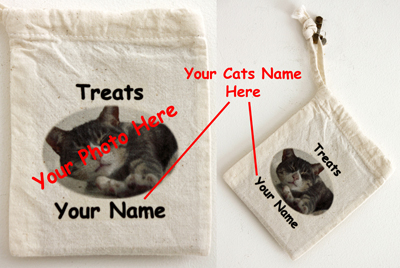 Cat Treats - Personalised