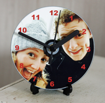 Personalised CD Clock