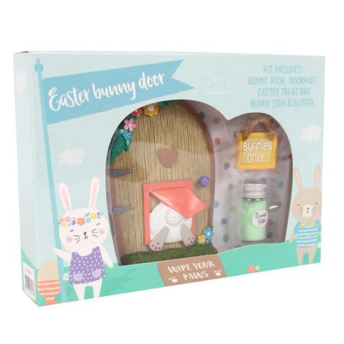 Easter bunny door - pre-order (dispatch w/c 27th February)