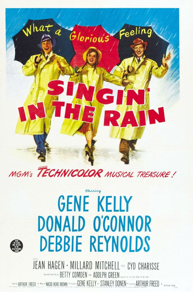 (I) 'Hollywood Movies' box - Box 9 - September - Singin' in the Rain