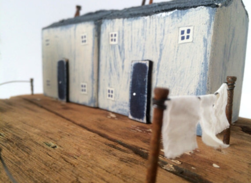 Driftwood Houses; driftwood, reclaimed wood houses, recycled art, Little Ho