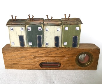 Vintage Spirit Level Recycled Art