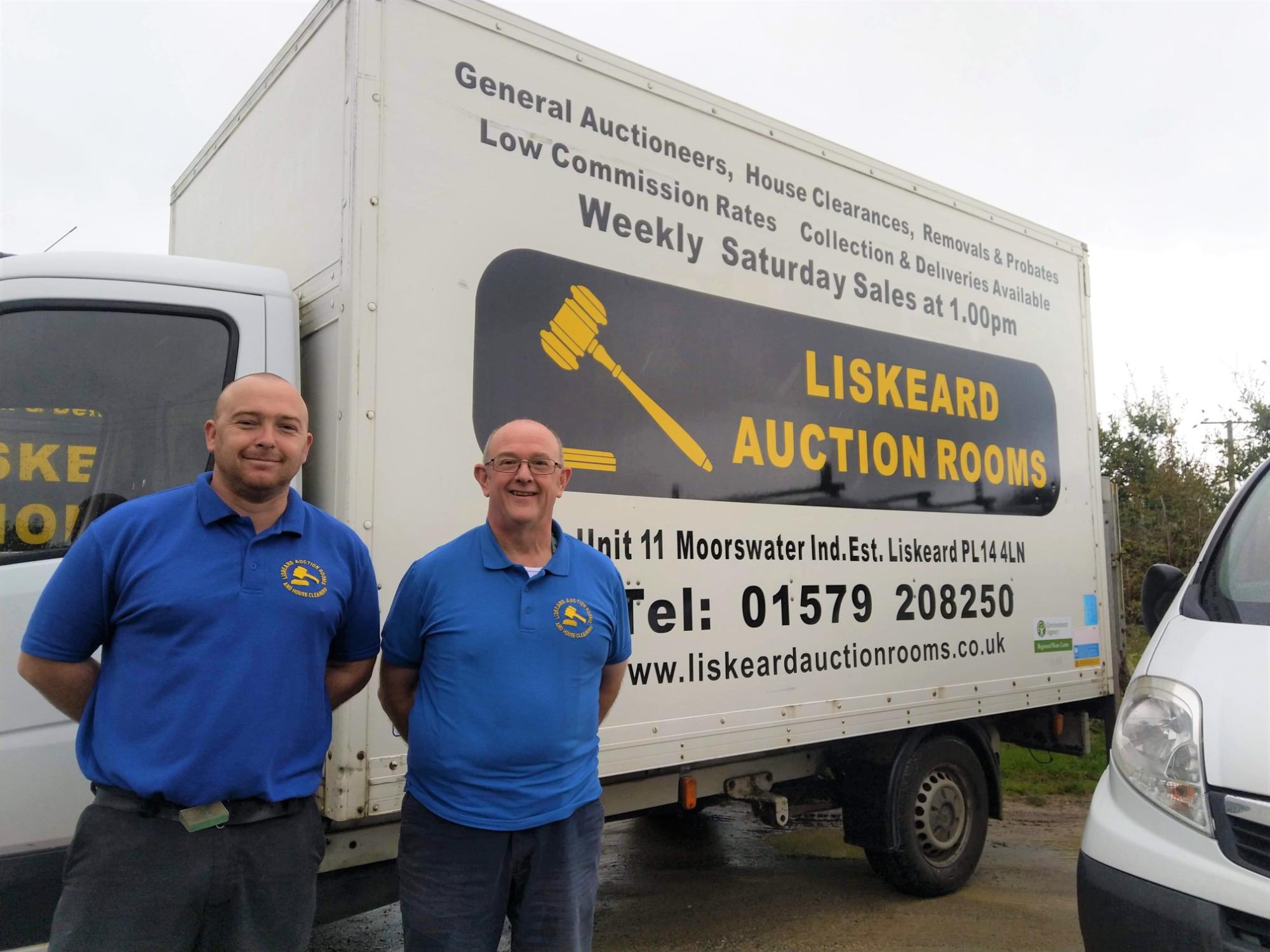 Liskeard Auction Rooms - The bosses