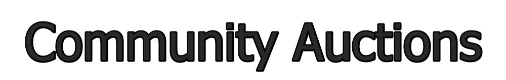Community Auctions, site logo.
