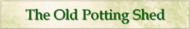 oldpottingshed.com, site logo.