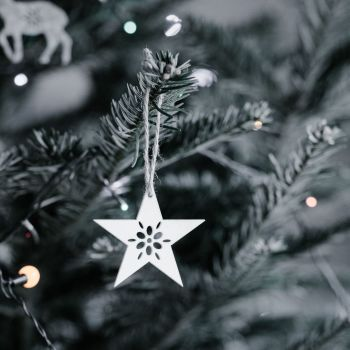 Star Christmas Tree Decoration