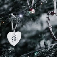 Heart Christmas Tree Decoration
