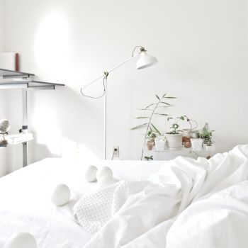 Pure Cotton White Bedspread