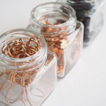 3 Miniature Storage Jars