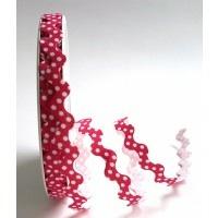 Bright Pink Polka