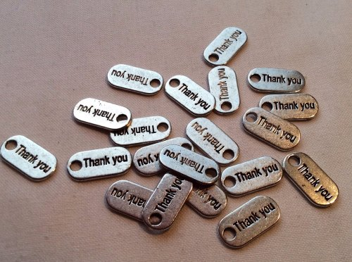 Mini thank you dog tags