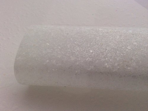 Snowball glitter fabric