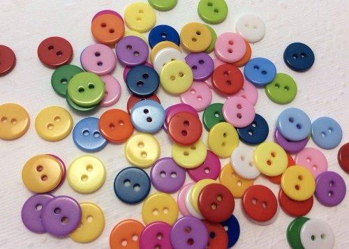 11mm Super bright midi buttons