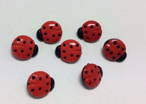 Little ladybug button