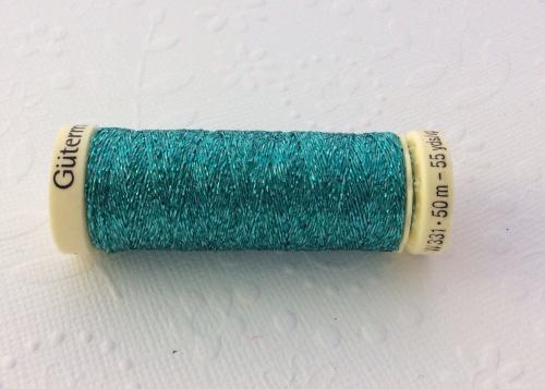 Gutterman mermaid glittered thread