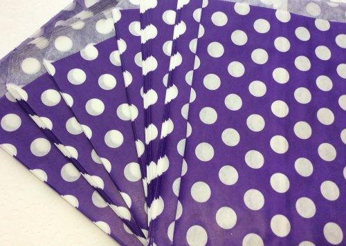 Polka dot paper bags 7x9