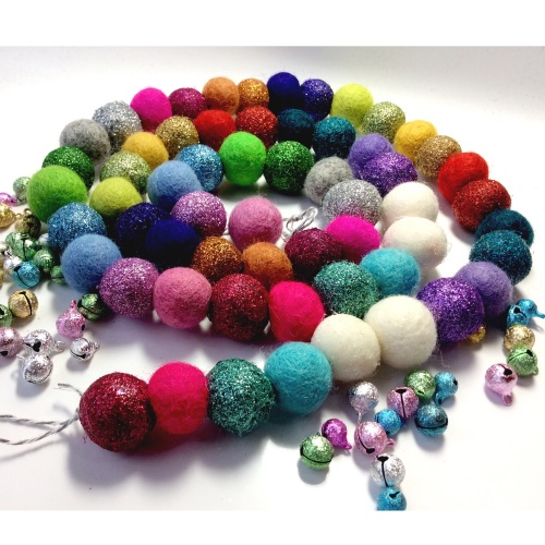 Some where over the rainbow x 60 ball garland kit