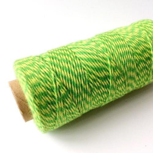 Neon Green/Yellow cotton twine