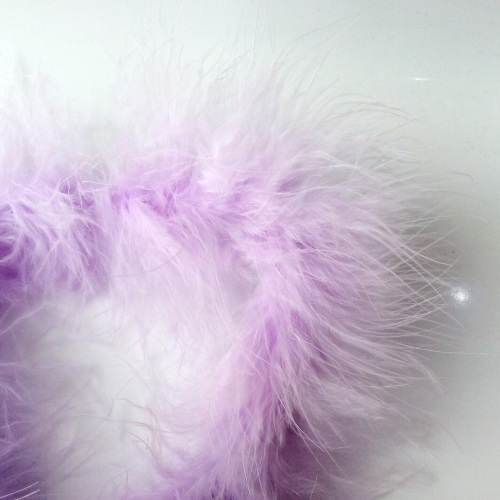 Lilac Maribou Feather String