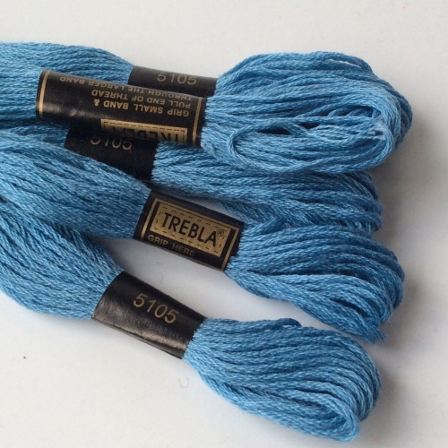 Embroidery Threads-Blue Sky