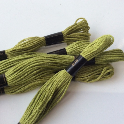 Embroidery Threads-Spring Green