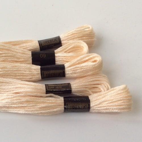 Embroidery Threads-VANILLA ICE CREAM