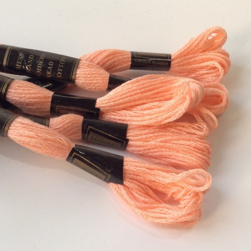 Embroidery Threads-CANTALOUPE