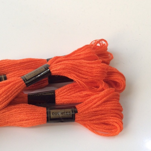 Embroidery Threads-PUMPKIN