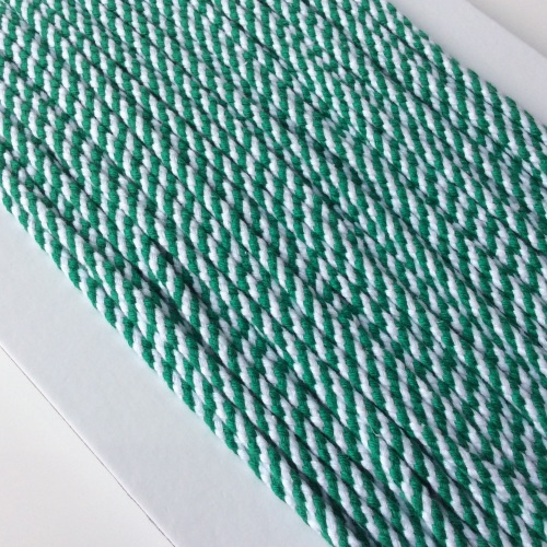 4mm Chunky Bakers Cord - GREEN