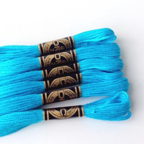 DMC Embroidery Thread matching FAR AWAY SEAS