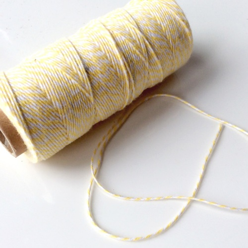 2 Ply Bakers Twine - YELLOW